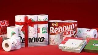 Renova lleva la Navidad al papel higiénico
