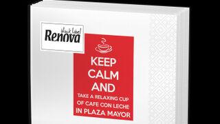 Renova aprovecha el tirón del 'relaxing cup of café con leche'