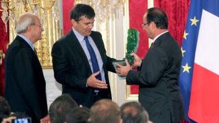 """El presidente de Francia premia a ID Logistics por su """"audacia creativa"""""""