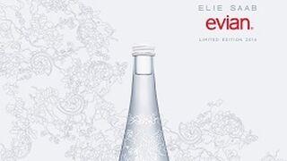 Evian colabora con el diseñador Ellie Saab en su nueva edición limitada