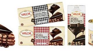Nueva gama Postres de Chocolates Valor para disfrutar en casa