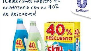 Skip celebra su 40º aniversario con descuentos del 40%