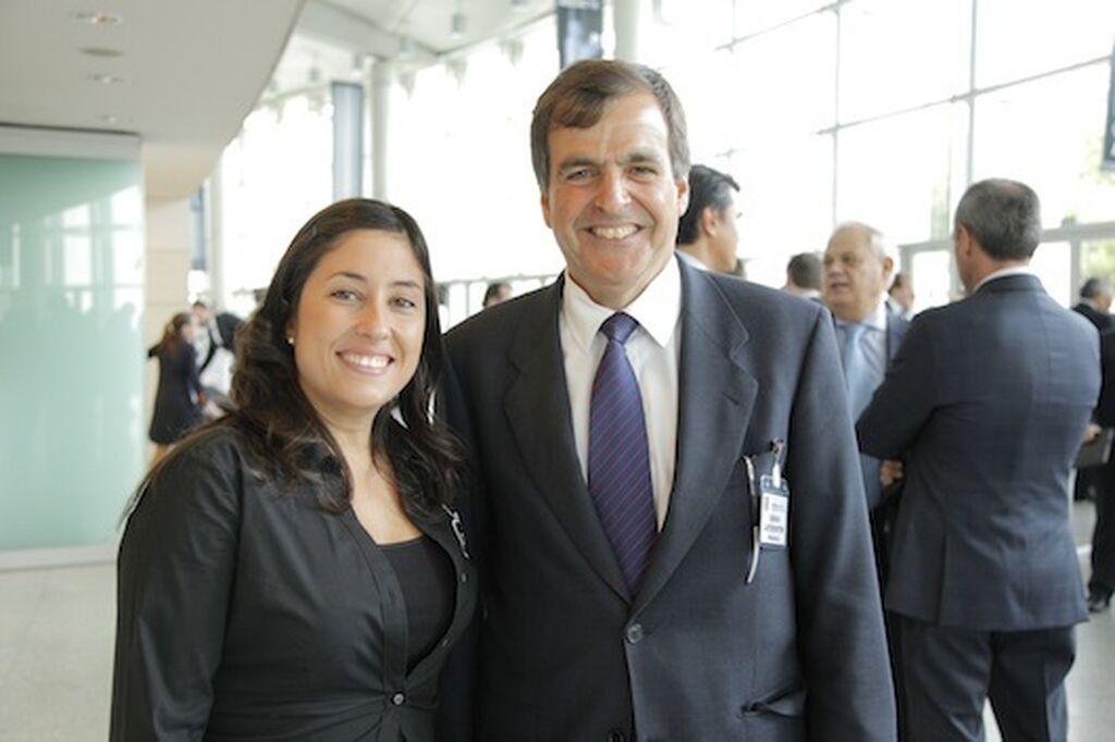 Mar Calderón (GranConsumo.tv), con Ignacio Larracoechea, presidente de Promarca
