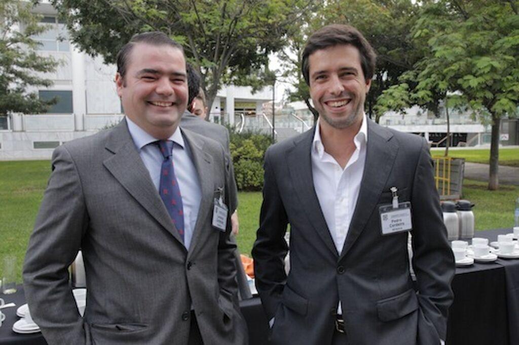 Lorenzo de Cárdenas y Pedro Cordeiro, de Renova, con la innovación por bandera