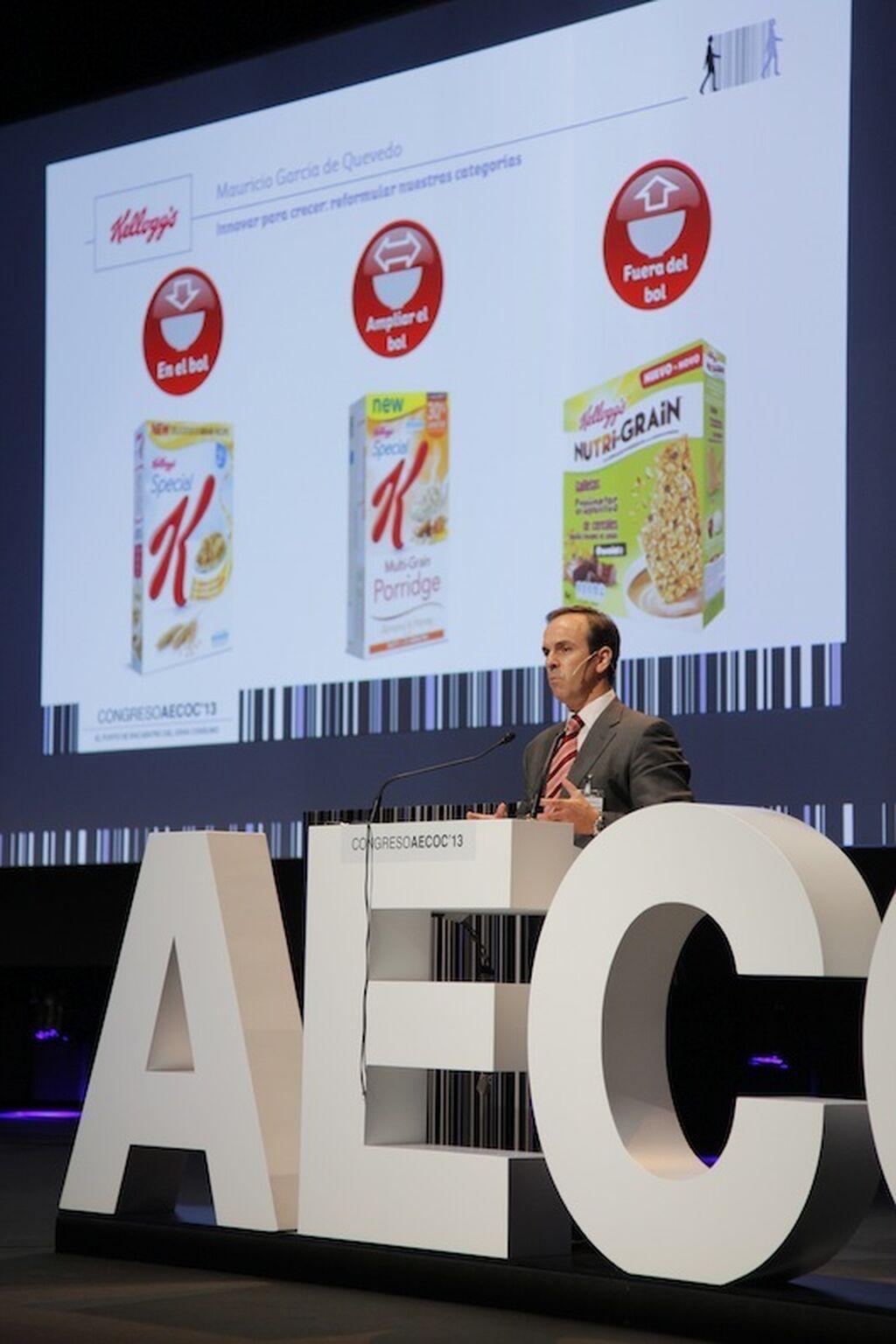 Mauricio García de Quevedo, presidente consejero delegado de Kellogg's, una marca que innova
