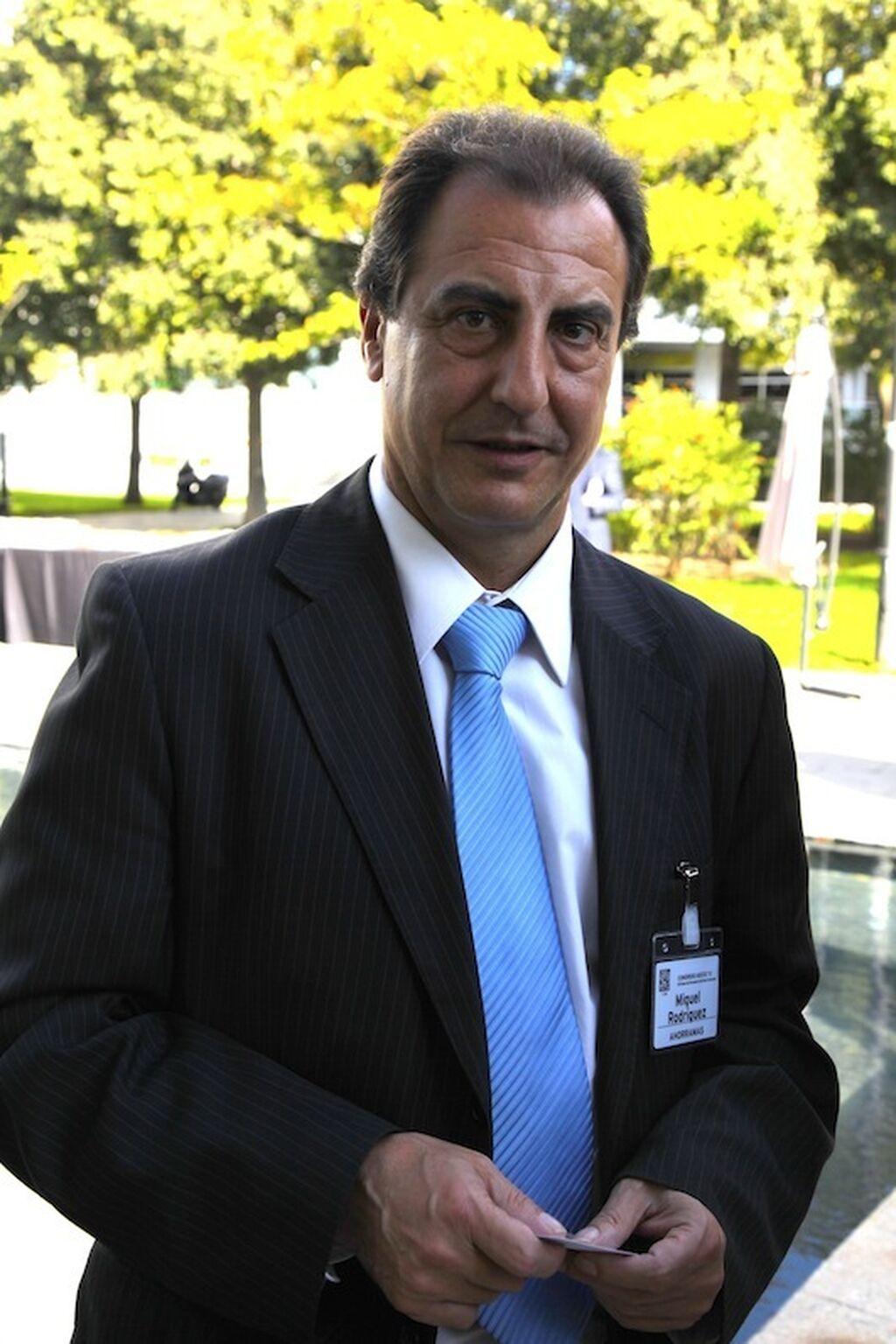 Miguel Rodríguez, jefe del departamento de Compras de Ahorramás