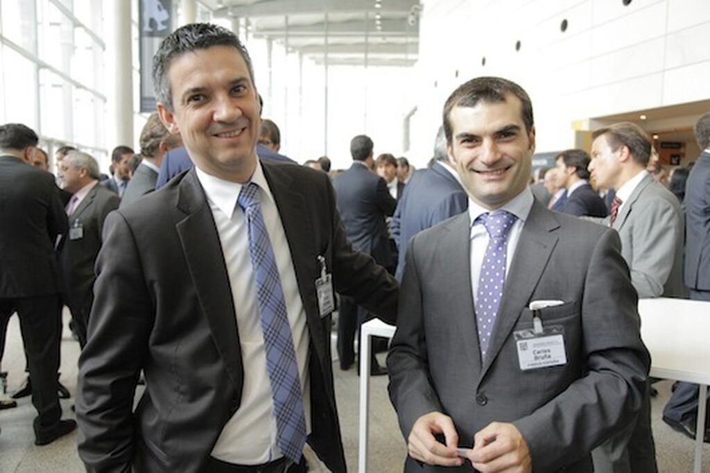 Olivier Humeau y Carlos Bruña, director general y Retail Sales Manager de Findus