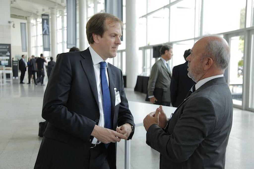 Igor Unzalu, VP Customer Developement de Unilever, con José García Carrión