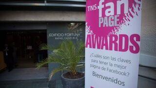Ron Barceló destaca en los TNS Fan Page Awards