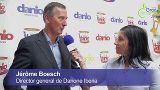 Entrevista a Jérôme Boesch, director general de Danone Iberia