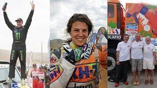 KH-7 triunfa con Nani Roma en el Rally Dakar