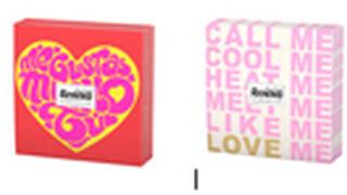 Románticos mensajes en servilletas Renova para San Valentín