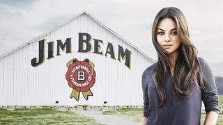Mila Kunis le pone cara a la primera campaña mundial de Jim Beam