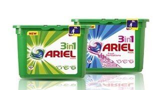 Ariel innova con su nuevo detergente 3 en 1 Pods