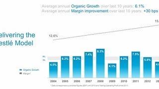 Nestlé crece menos en 2013 y prevé un 2014 similar