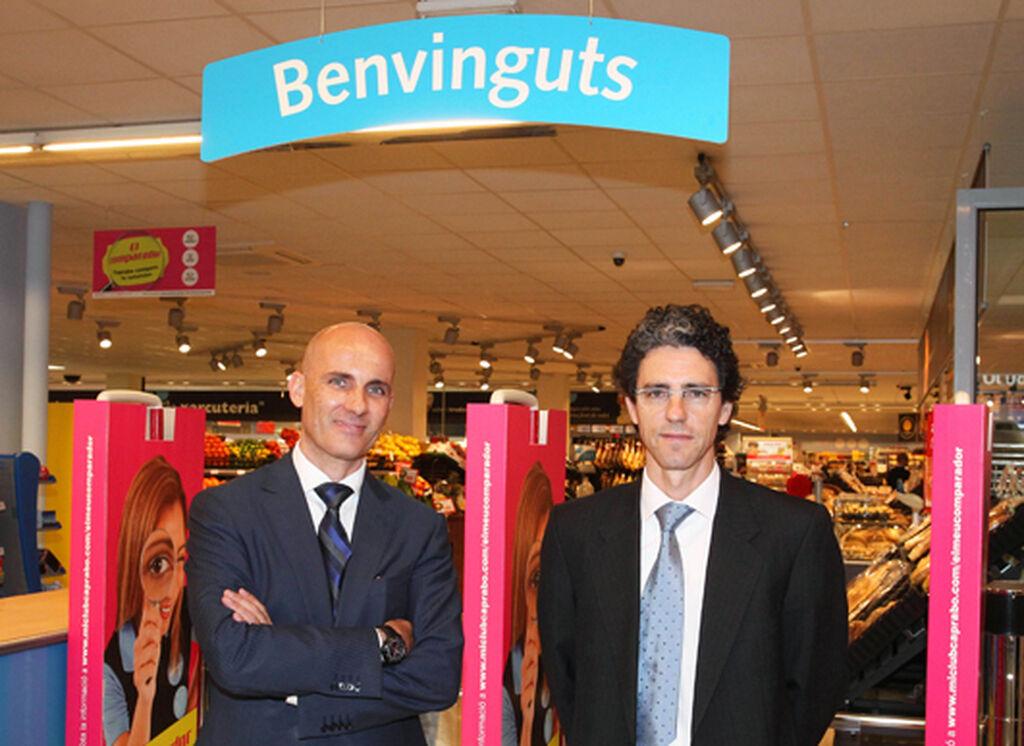 M. Cumplido (director de Marketing) y A. Ojinaga (director general)