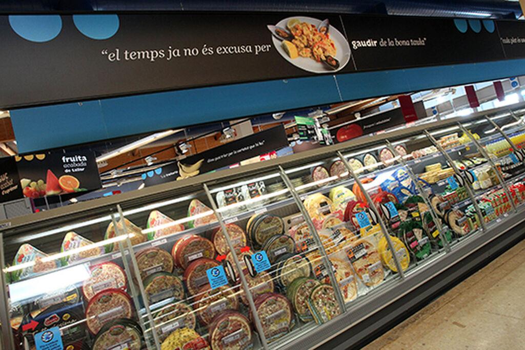 Mural de productos refrigerados, soluciones para el consumidor actual