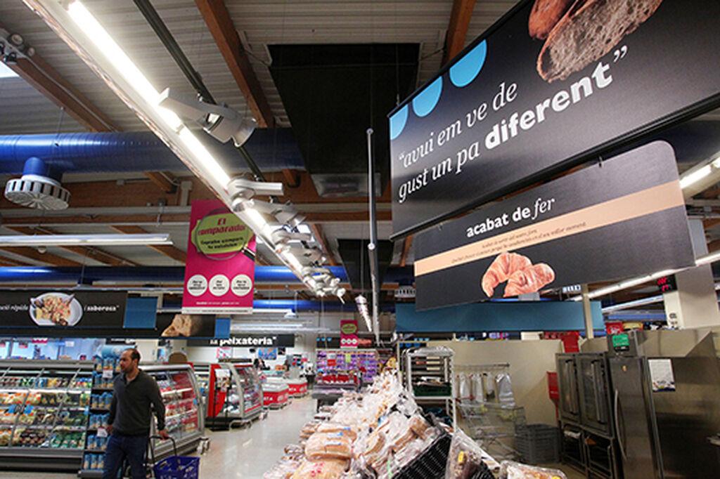La panadería gana espacio y oferta productos recién hechos
