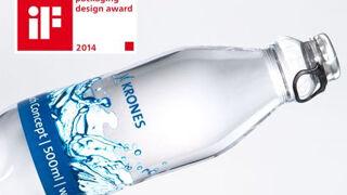 La botella PET lite 9.9 carbonated de Krones, Premio iF de diseño
