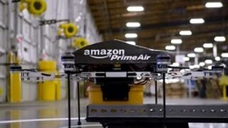 Amazon produce ya drones para delivery