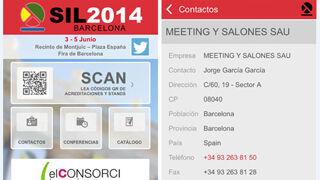 SIL 2014 crea una App para favorecer los contactos