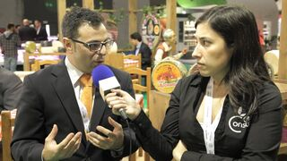 David Gómez Rico, técnico de exportación de Quesos Rocinante (entrevista Alimentaria 2014)