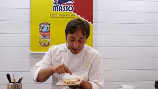 Las conservas Massó pasan por el filtro del chef Isma Prados