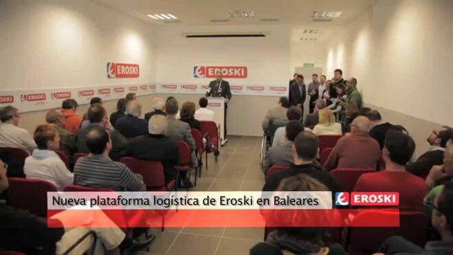 Presentación de la nueva plataforma de Eroski en Palma de Mallorca