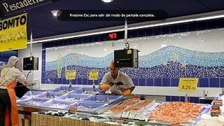 Mercadona compró 32.000 toneladas de pescado a las lonjas españolas