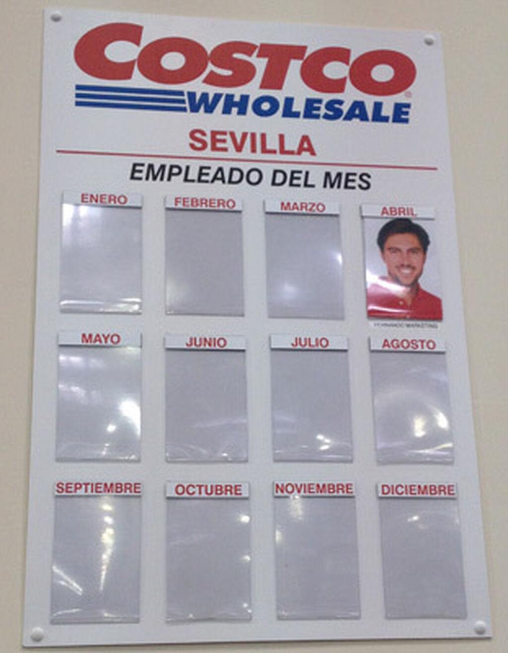 Ya hay empleado del mes de abril en Costco Sevilla