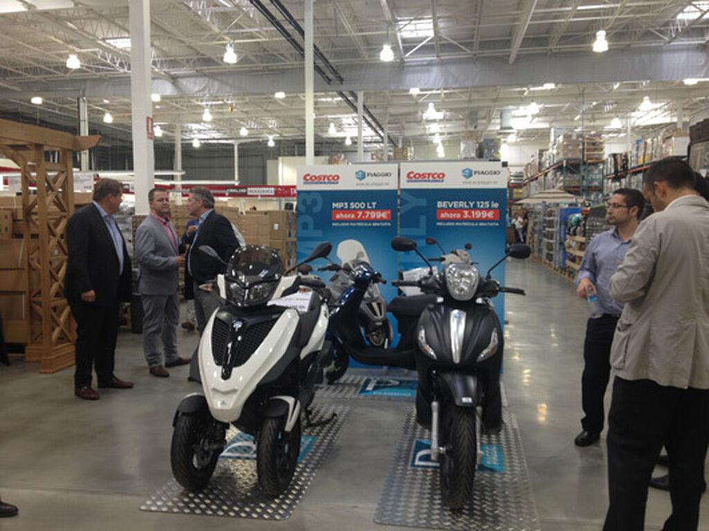 hasta se podría decir que Costco vende algunas motos...