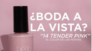 """Uñas """"de novia"""" con 14 Tender Pink de belle&MAKE-UP"""
