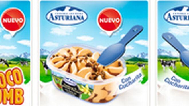 Central Lechera Asturiana lanza tres nuevos helados