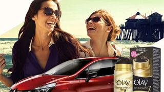 Probar el nuevo Clio tendrá premio de productos Olay