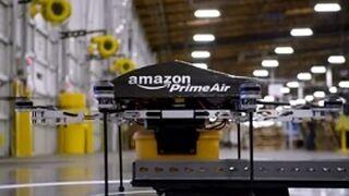 Los drones de Amazon, de momento ilegales