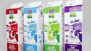 Alcampo aumenta la gama de leche de producción controlada