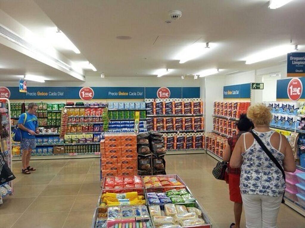 Amplitud física para comprar, uno de las rasgos de la tienda abierta