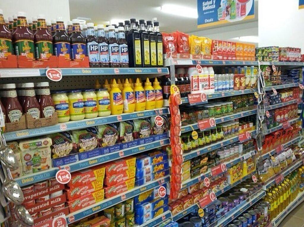 La alimentación supone un cuarto de la oferta de la tienda