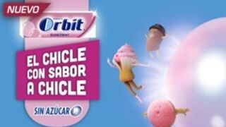 Orbit Bubblemint, chicle sabor chicle