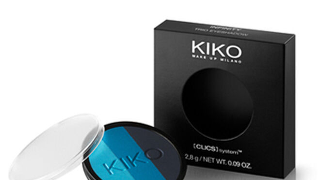 Nueva sombra de ojos trío de Kiko, tonos degradados y brillantes