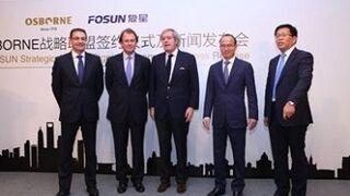Osborne abre su accionariado a inversores chinos