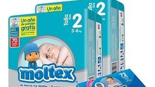 Moltex es ya el segundo fabricante de pañales desechables en España