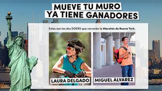 Rexona premia con dorsales para la Maratón de Nueva York
