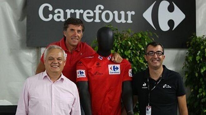Carrefour presenta el maillot de La Vuelta 2014