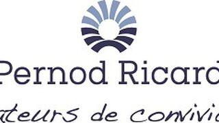 Pernod Ricard facturó el 7% menos lastrado por China