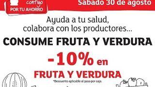 Eroski, descuentos del 10% en fruta y verdura frente al veto ruso