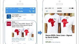 Twitter prueba el botón de compra en los tuits