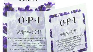 Nuevas toallitas desmaquillantes de uñas de OPI