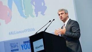 Nestlé lidera una iniciativa contra el desempleo juvenil