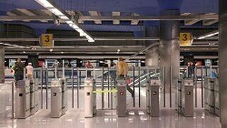 Carrefour en los planos del metro de Madrid